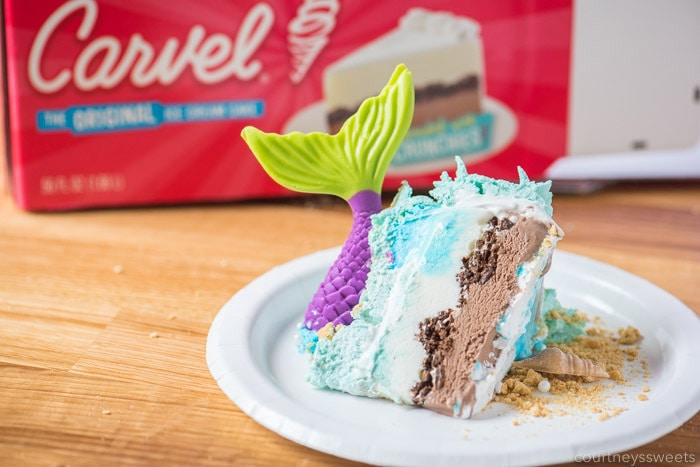 carvel ice cream cake mermaid cake