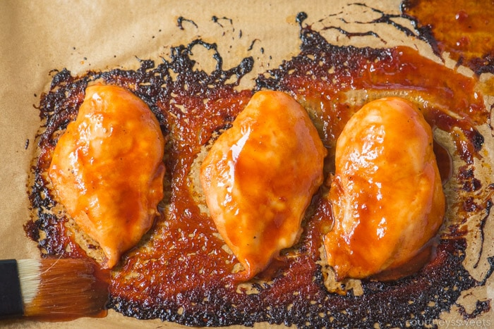 bbq chicken breast in oven