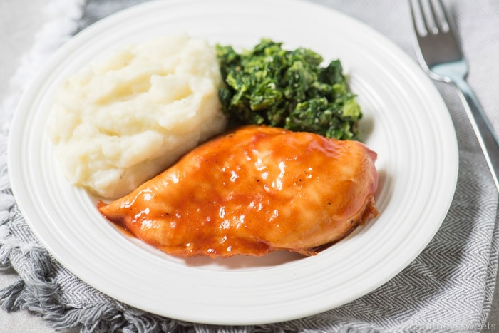 oven baked bbq chicken breast
