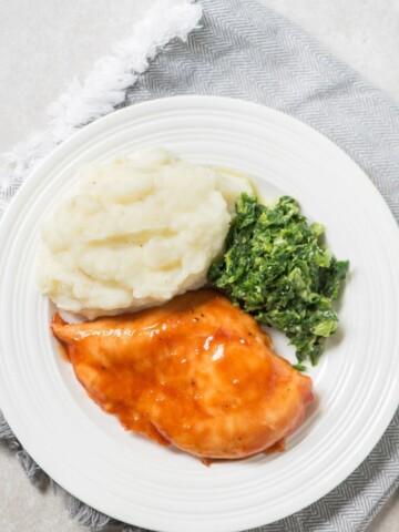 baked bbq chicken breast