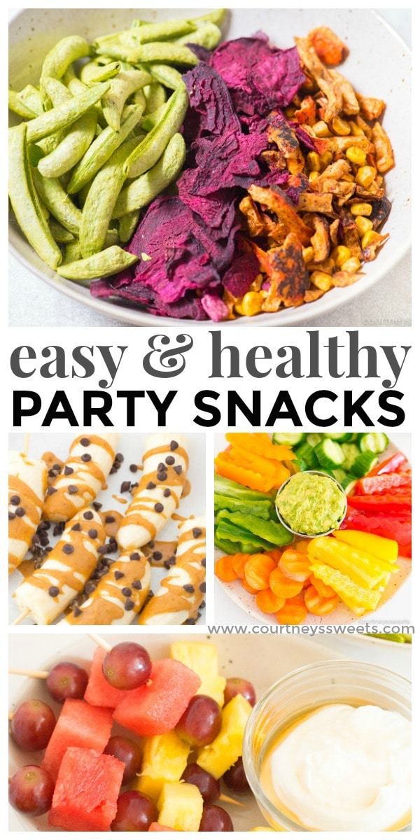 easy healthy party snacks