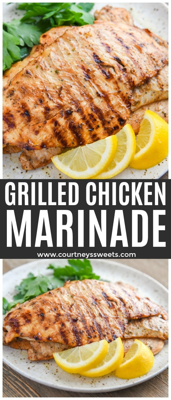 grilled chicken breast marinade