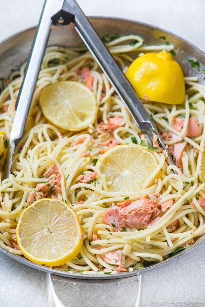 salmon pasta recipe