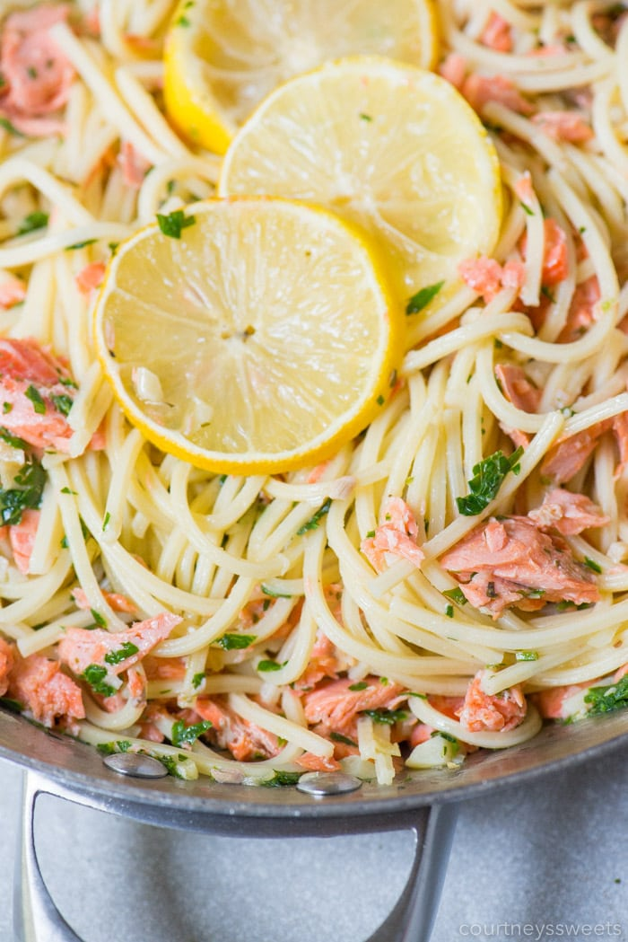 easy salmon and pasta recipe