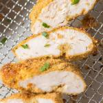Air Fryer Chicken Breast with Cornflake Crumbs