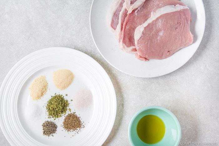air fryer boneless pork chops