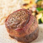 air fryer filet mignon with bacon
