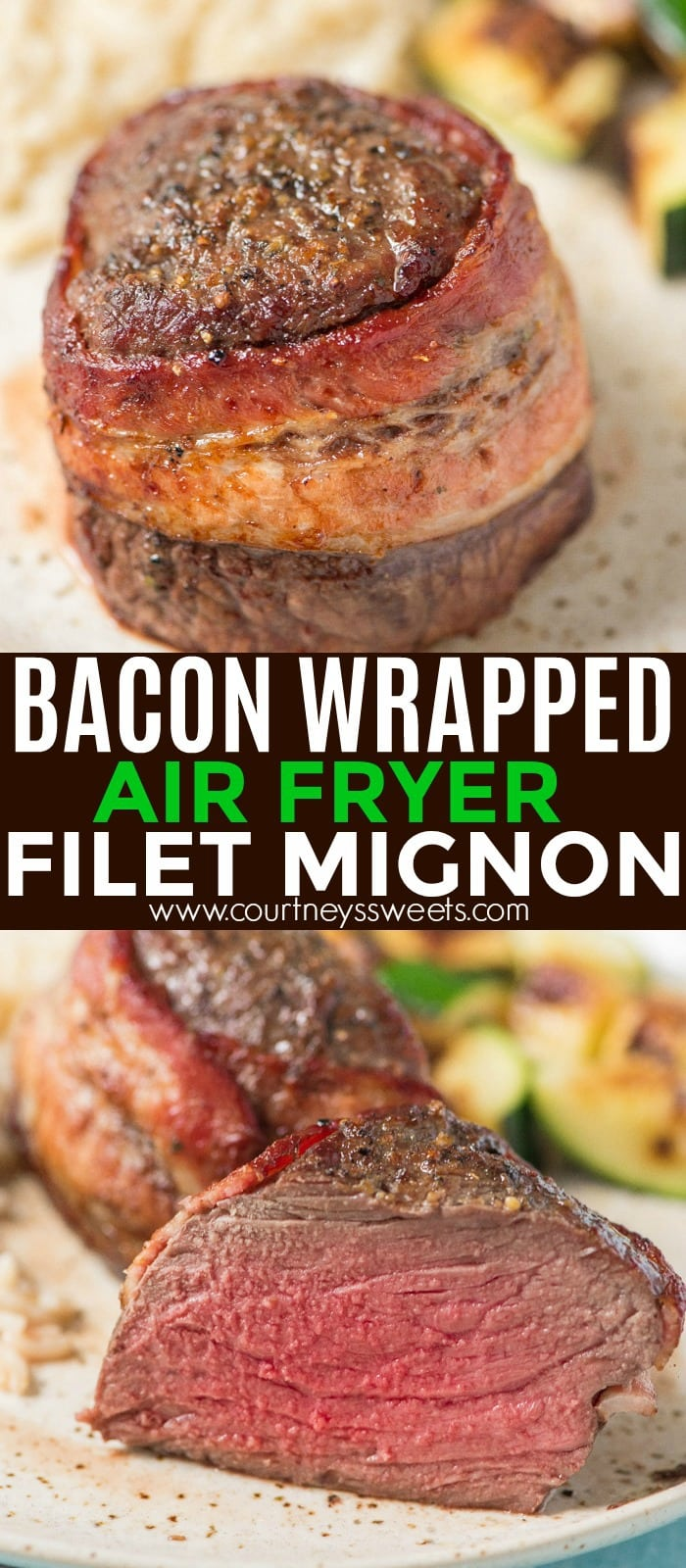 air fryer bacon wrapped filet mignon recipe