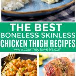 Boneless Chicken Thigh Recipes