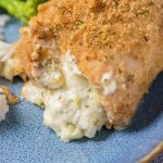 Broccoli and Cheese Stuffed Chicken Thighs