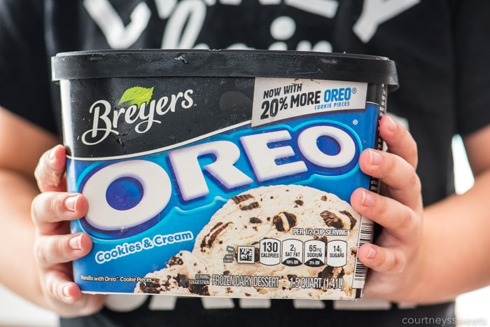 breyers oreo ice cream