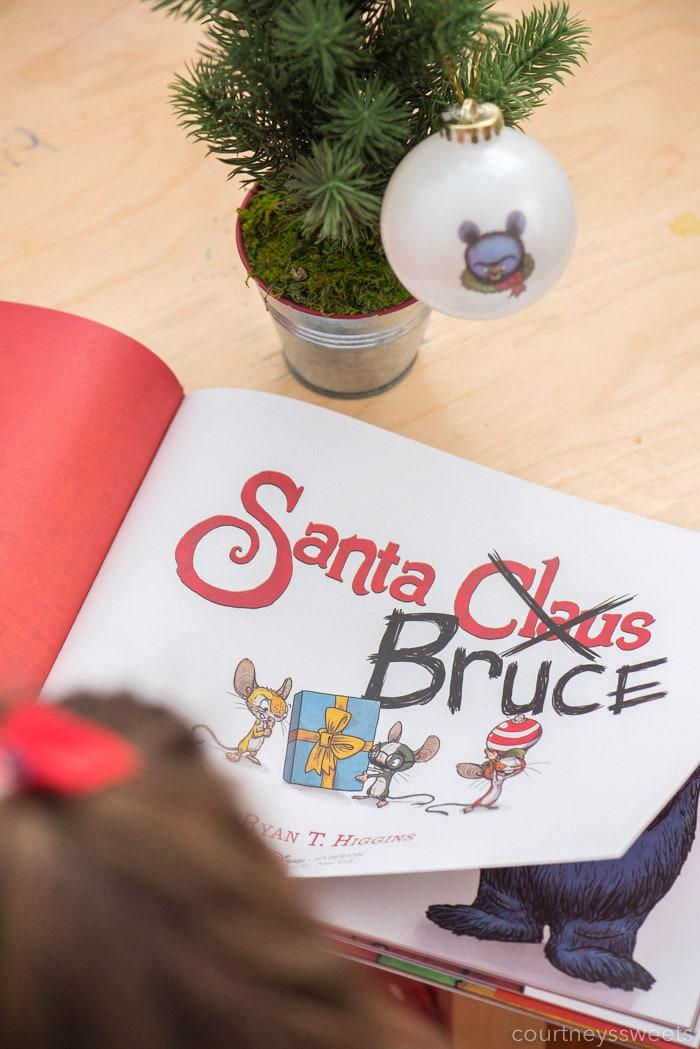Santa Bruce Christmas Book