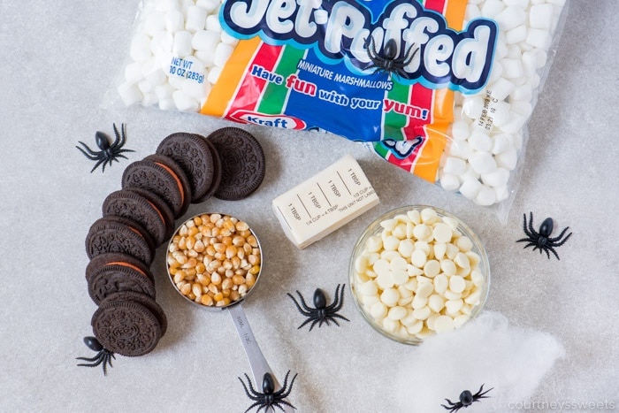 halloween popcorn balls ingredients