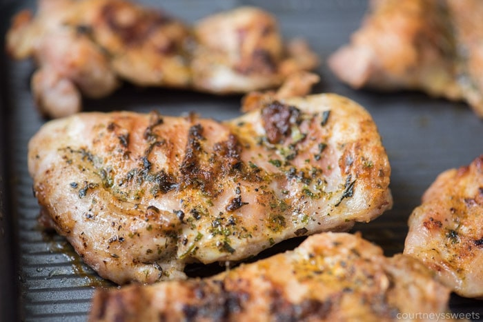 oven baked chicken thighs recipe