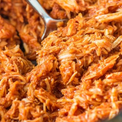 slow cooker pulled chicken,