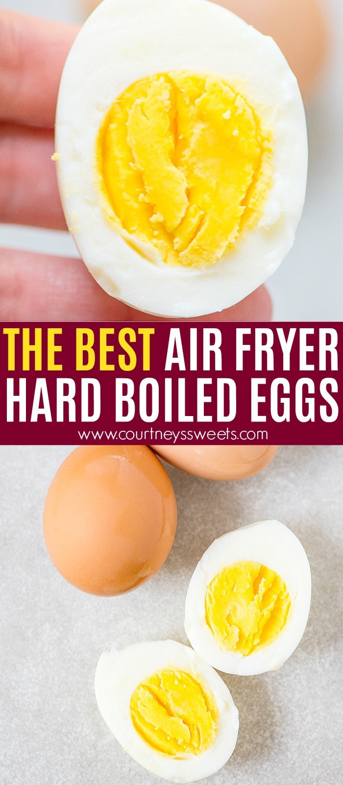 Air Fryer Hard Boiled Eggs - air fryer recipes