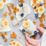 Frozen Yogurt Bark Breakfast Cereal