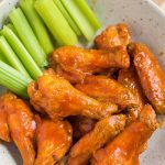 Air Fryer Chicken Wings (Crispy with Buffalo Hot Sauce)