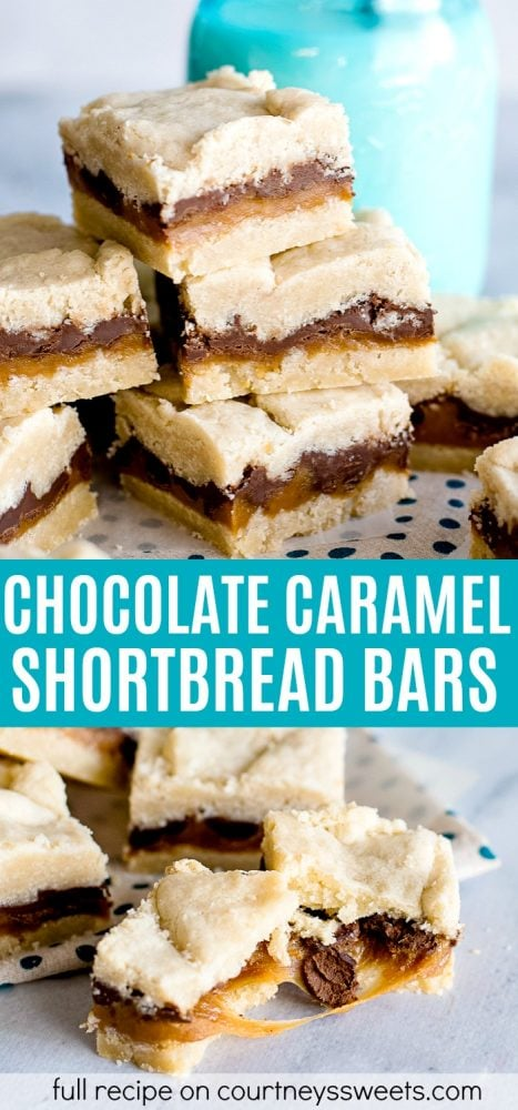 chocolate caramel bars with shortbread crust recipe