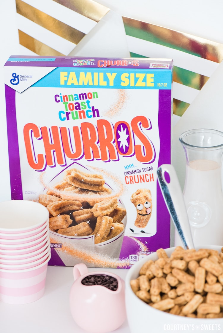 new Cinnamon Toast Crunch Churro Cereal Breakfast Party