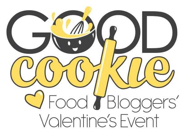 good cookie cookies for kids cancer food bloggers valentine's event logo