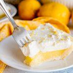Lemon Pie with Sugar Cookie Crust