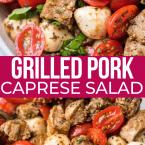 pork caprese salad easy recipe