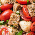 pork caprese salad recipe