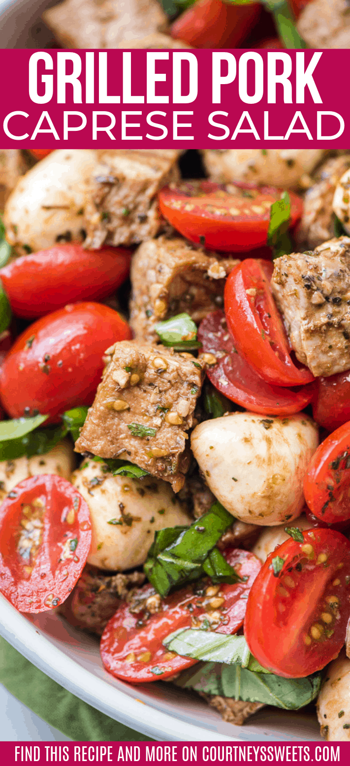 pork caprese salad recipe