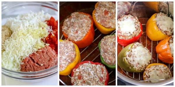 step by step photos instant pot stuffed pepper recipe