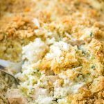 Easy Chicken Broccoli Rice Casserole