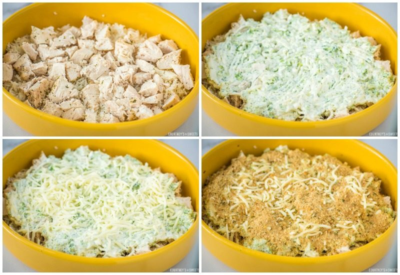 step by step photos chicken broccoli rice casserole