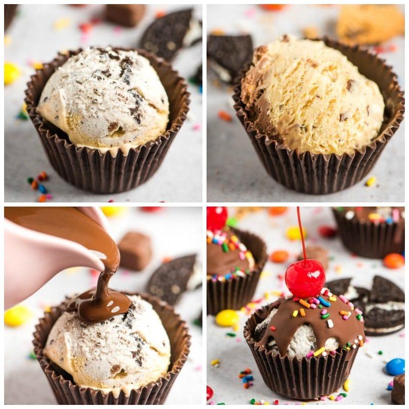step by step photos ice cream cupcakes