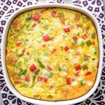 Tater Tot Breakfast Casserole with Veggie Taters