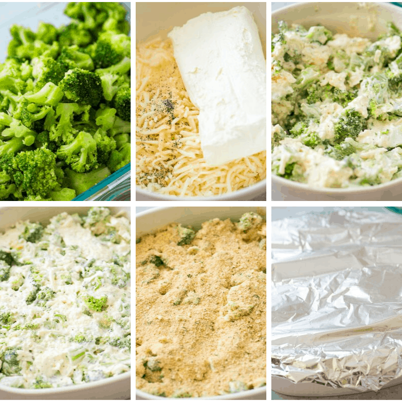 broccoli casserole step by step pictures