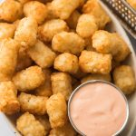 Air Fryer Tater Tots with Fry Sauce Recipe