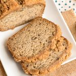 Banana Bread with Coffee Cake Crumble